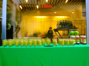 Entrada IED - buffet de cremas