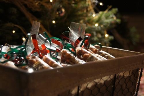 Snacks en una paquete de Ànima catering