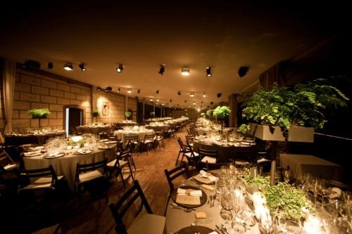 Detalle de cena en Masia Ribas