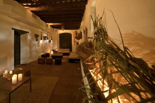 Interior de la Masia