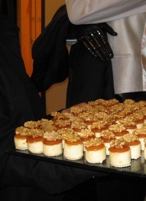 Brie con membrillo y nuez en la Fiesta Caramelo