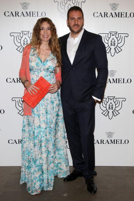 Photocall de Borja Thyssen y Blanca Cuesta en Fiesta Caramelo by Ànima catering