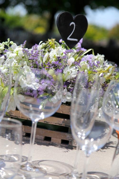 Mesa dos en una boda by Ànima catering