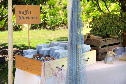 Detalle del Buffet Marinero by Ànima catering