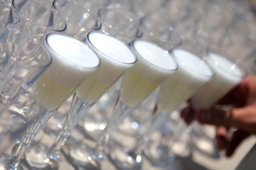 Gin Fizz Welcome boda by Ànima catering
