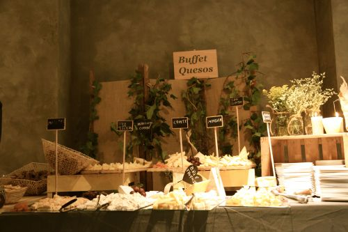Buffet de quesos by Ànima catering