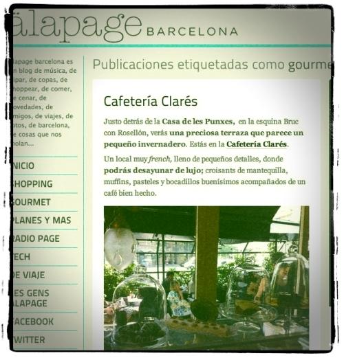 Web de Alapage Barcelona