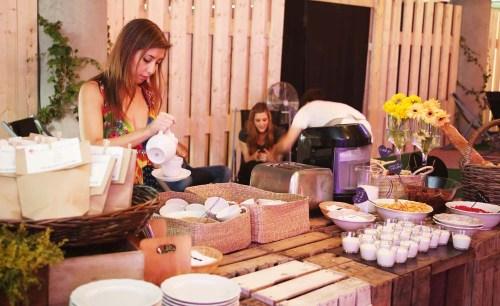 Desayuno by Ànima catering para Desigual