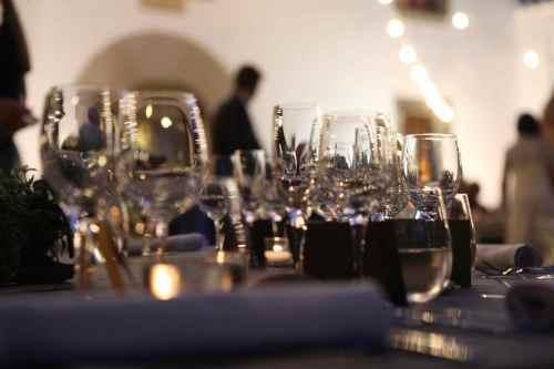 Cena Ànima en una boda en Mas Pujol