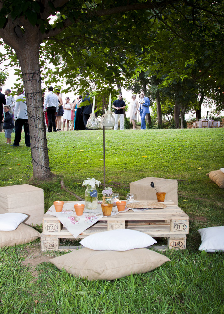 La deco del sue o en una noche de verano nima catering for Chill out jardin