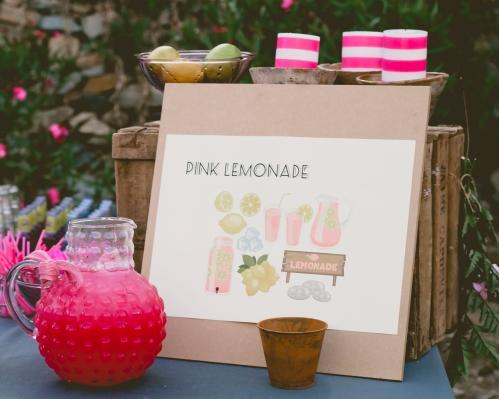 Pink Lemonade en una boda Ànima inspirada en New York