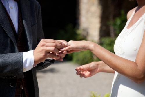 Ceremonia en una boda Ànima catering
