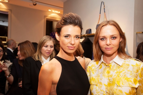 Stella McCartney y Natasha Yarovenko_Ànima catering