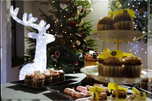 Dulces con toque navideño by Ànima catering