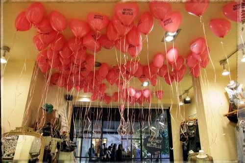 ¡Coge tu globo! Globos en la tienda de Brandy Melville