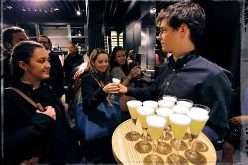 Gin Fizz 0º-60º en Uterque by Ànima catering