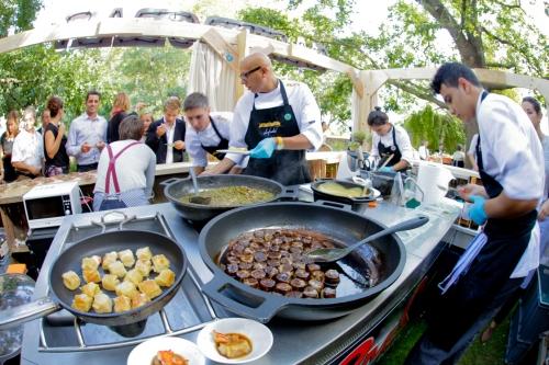 El Gastrobar Ànima catering en acción
