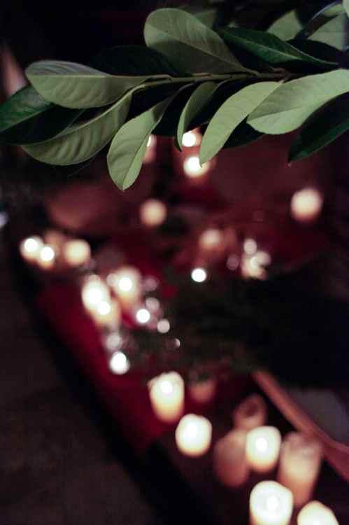 Velitas en una boda romántica by Ànima catering