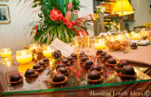 Home Lovely Ideas&Ànima catering_bombón de foie con chocolate, Pedro Ximénez y galleta de avellanas