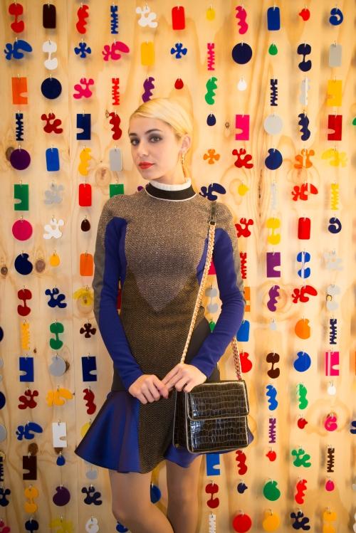 Miranda Markaroff en el openning de Stella McCartney by Ànima catering
