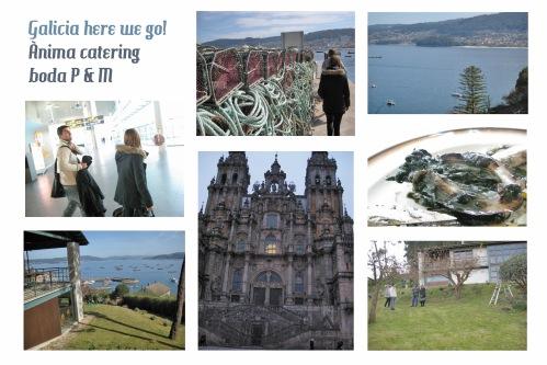 Visita técnica de Ànima catering a Galicia para una boda Ànima